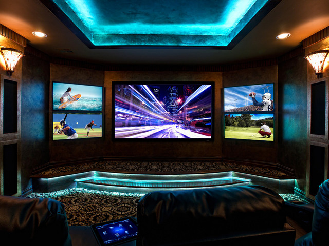 Multi Screen Is A Hot Trend In Home Theatre
